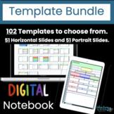 Digital Interactive Notebook Template Bundle: Design your