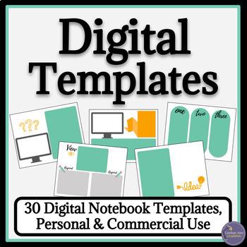 Digital Notebook Template Teaching Resources | Teachers Pay Teachers
