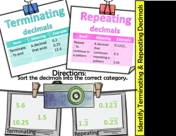 Digital Notes: All Real Numbers Have Decimals