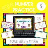Digital Number 9 Practice