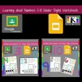 Digital Number Activities Numbers 0-10