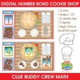 Digital Number Bond Cookie Shop | Distance Learning