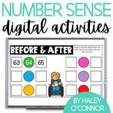 Digital Number Sense Activities {Google Classroom and Sees