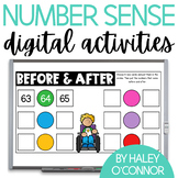 Digital Number Sense Activities {Google Classroom and Sees