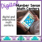 Digital Number Sense Math Centers for Distance Learning