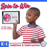 Digital Number Story Game - 1st Grade Addition/ Subtractio