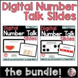 Digital Number Talk Slides Bundle
