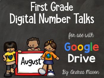 Digital Number Talks -  Google Drive