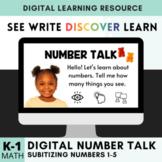 Digital Number Talks - Subitizing 1-5