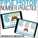 Digital Number Writing Activities for Seesaw