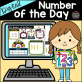 Digital Number of the Day for Google Slides | Distance Lea