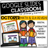 Digital October Math and ELA Review