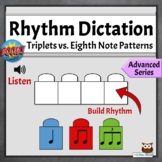 Digital Online Music Game  | Advanced Rhythm Dictation Set