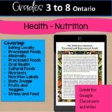 Digital Ontario Grades 3 to 8 Health:  Nutrition