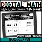 Digital Open-Ended Math//Which One Doesn't Belong//Google