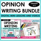 Opinion Writing Unit | Opinion Writing Mini-Lesson Videos