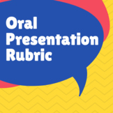 Digital Oral Presentation Rubric