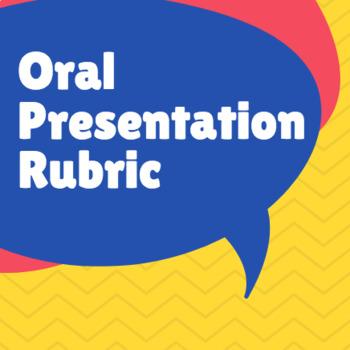 Digital Oral Presentation Rubric
