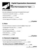 Digital Organization Assessment