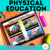 Digital PE Weekly Physical Activity Log | Distance Learning