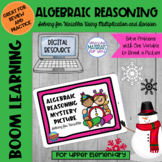 Digital PICTURE REVEAL Algebraic Reasoning Boom Learning℠ Quiz