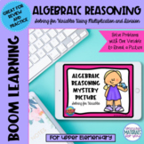 PICTURE REVEAL Algebraic Reasoning Boom Learning℠ Quiz | Spring