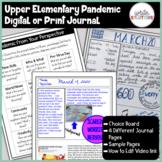 Digital Pandemic Journal Writing Google Drive Ready