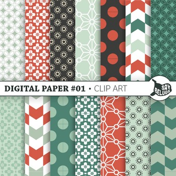 Digital Pattern Paper 01 – Commercial