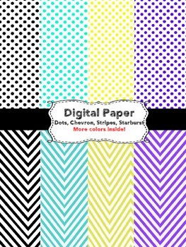 Digital Paper {44 Total} for Commercial and Personal Use