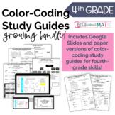 Digital & Paper 4th Grade Study Guide Growing Bundle!