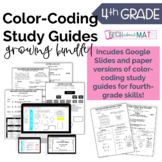 Digital & Paper 4th Grade Study Guide Ultimate Growing Bundle!