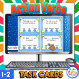 Digital & Paper Action Verb Task Cards- Google Assignments
