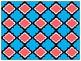 Digital Paper - Aqua & Coral Moroccan