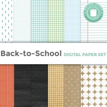 Notebook and Kraft Digital Paper