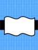 Digital Paper & Background--Blue Volume