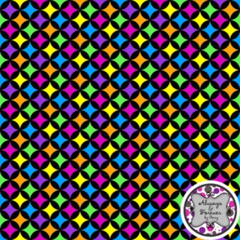Digital Paper Background FREEBIE Fun Circles