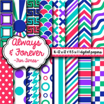 Digital Paper Fun Times