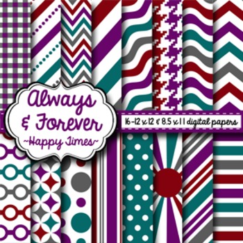 Digital Paper Happy Times