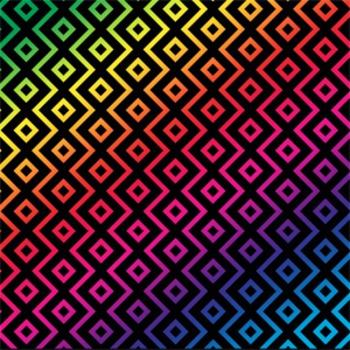 Digital Paper Midnight Rainbow
