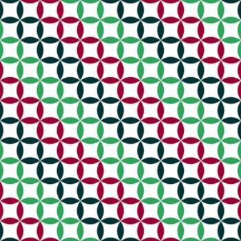 Digital Paper Mistletoe