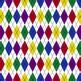 Digital Paper Rainbow Bright Mini