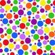 Digital Paper Rainbow Extravaganza