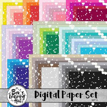 Digital Paper Background Set 1