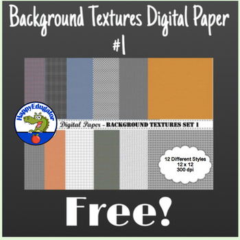 Digital Paper - Background Textures 1 FREE