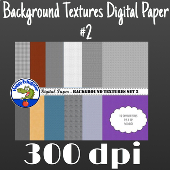 Digital Paper - Background Textures 2
