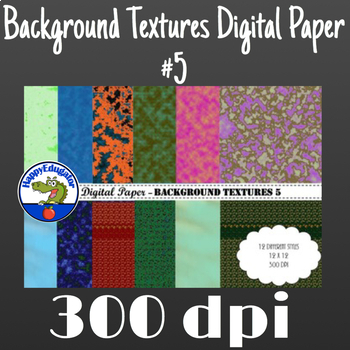 Digital Paper - Background Textures 5
