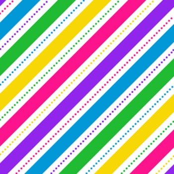 Digital Paper Unicorn Rainbow Mini