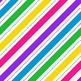 Digital Paper Unicorn Rainbow Mini