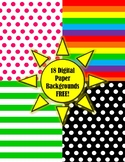 Digital Paper Backgrounds FREE!