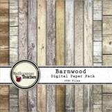 Digital Paper Backgrounds Barnwood Digital Paper